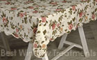 Vivid Rose Tablecloth