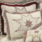 Quilted Star Quilted Euro Pillow
