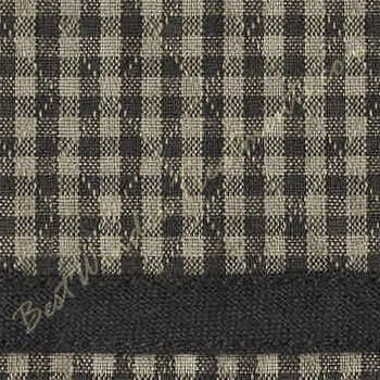 Brentwood Gingham Plaid Check Empire Valance In Red