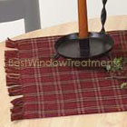 Sienna Plaid Table Runner