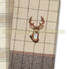 Hunting Lodge Embroidered Towel