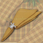 Straw Plaid Napkins