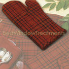 Welso Red Oven Mitt