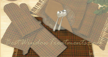 Barrel Brown Placemat