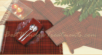 Welso Red Placemat