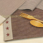 Colonial Star Embroidered Placemat