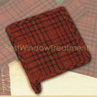 Welso Red Potholder