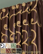 Kings Road Curtain Panel