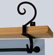 Scroll Curtain Shelf Bracket