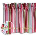 Wellesley Stripe Valance