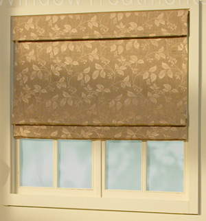 Shade Styles For Soft Fabric Roman Shades