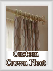 Crown Pleated Draperies