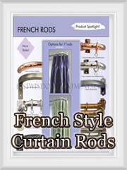 French Style Curtain Rods