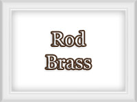 Brass Color Finish - Custom Metal Curtain Rods