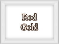 Gold Color Finish - Custom Metal Curtain Rods