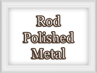 Polished Metal Finish - Custom Curtain Rods