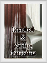 Bead & String Curtains
