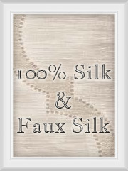 100% Silk & Faux Silk Draperies