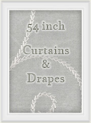 "Curtains: 54"" inch length Curtain Panels"