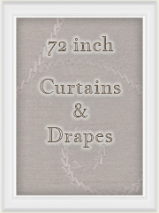"Curtains: 72"" inch Length Curtain Panels"