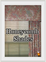 Honeycomb and Linen Pleated Shades