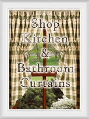 Shop Kitchen Curtains: Tiers, Swags & Valances
