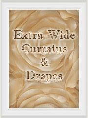 Curtain & Drapery Panels - Extra Wide