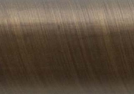 Atelier Acrylic Flute 1 1 8 Quot Dia Custom Metal Curtain Rod