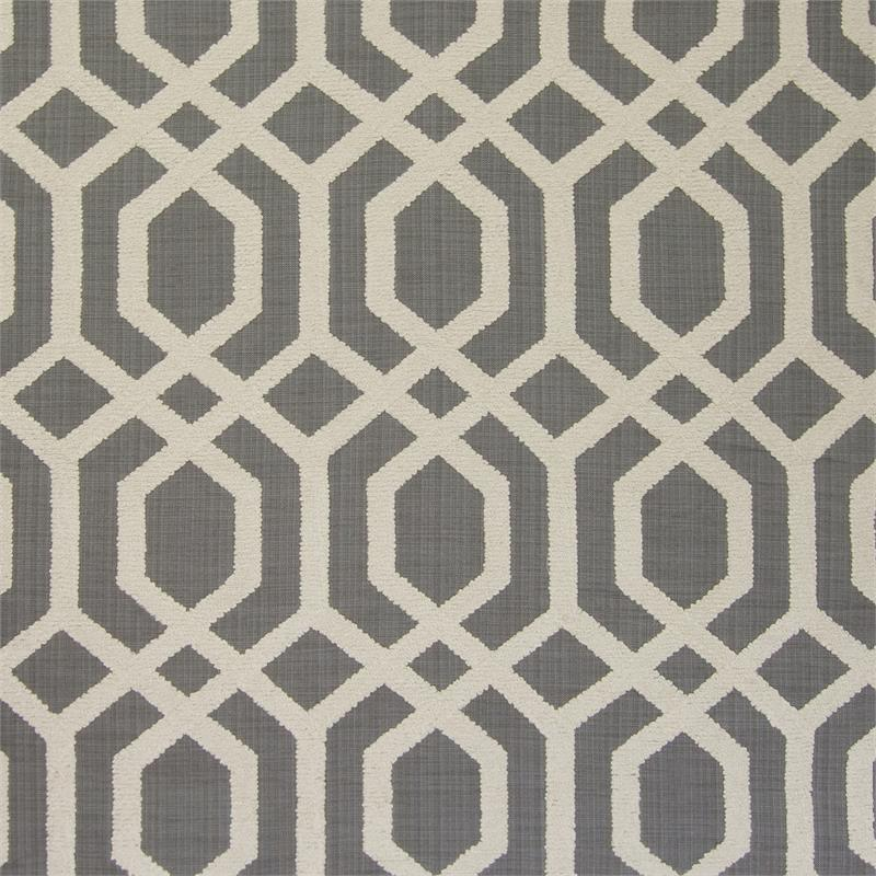 Woven With Lattice Slub Embroidery Fabric By The Yard