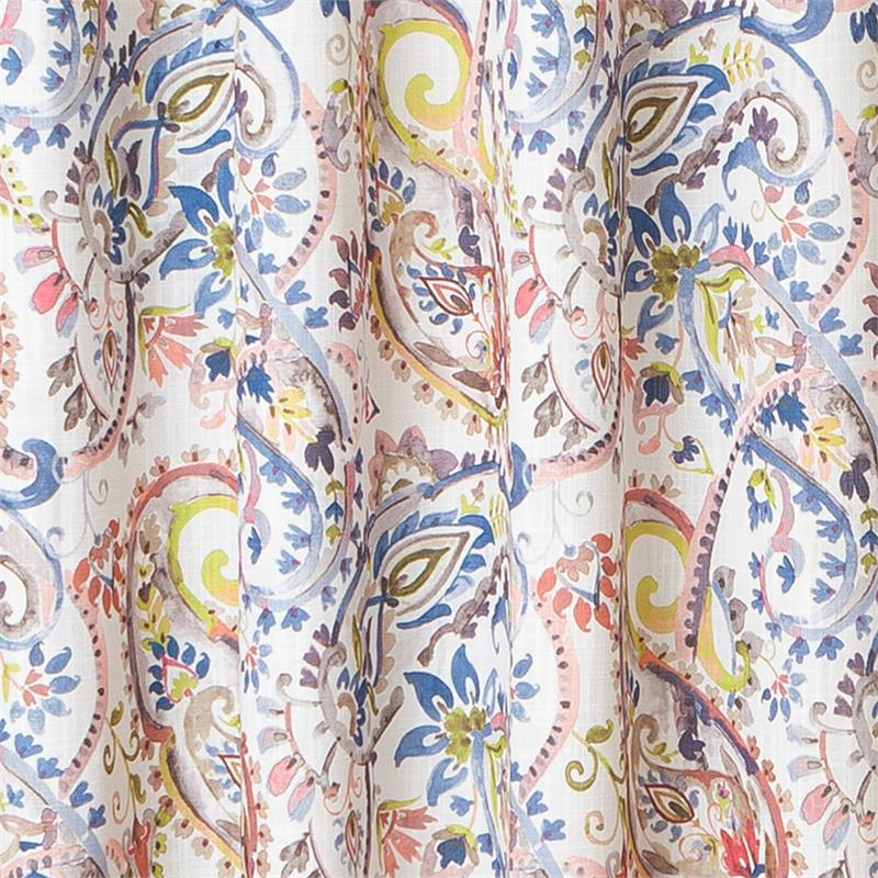 Cannes Paisley Curtain Panel   www.Bestwindowtreatments.com
