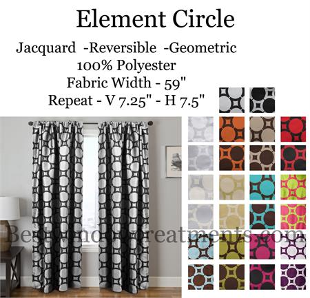 Modern Curtains In Green Grey Blue Purple Chocolate Brown And Cream