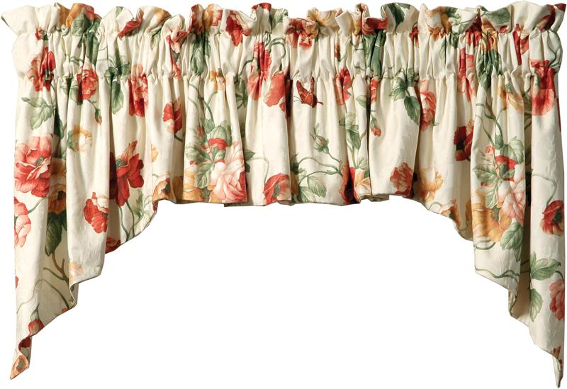 Casual Valances Style K2 In Group 3 Fabrics
