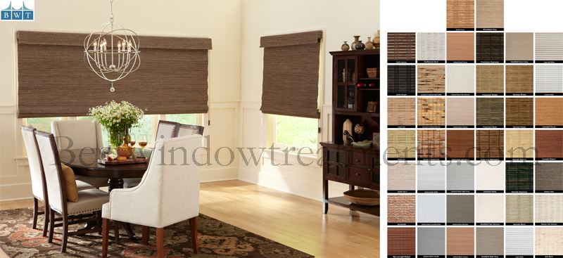 USA Premium Custom Woven Window Shades - Group 3 Patterns