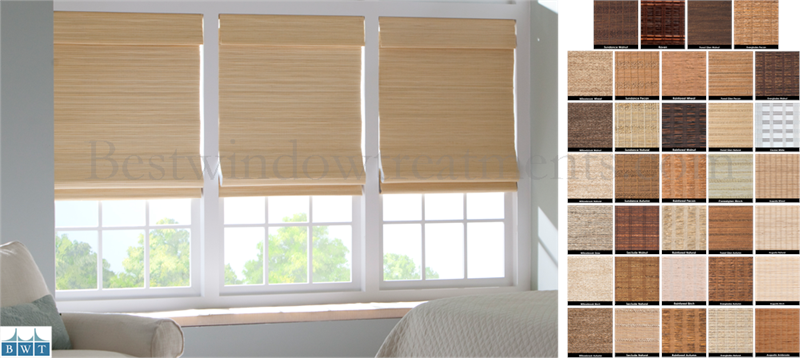 USA Premium Custom Woven Window Shades - Group 5