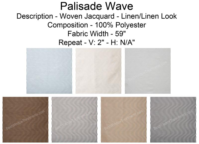 Palisade Wave Fabric Swatch Sample Bestwindowtreatments Com