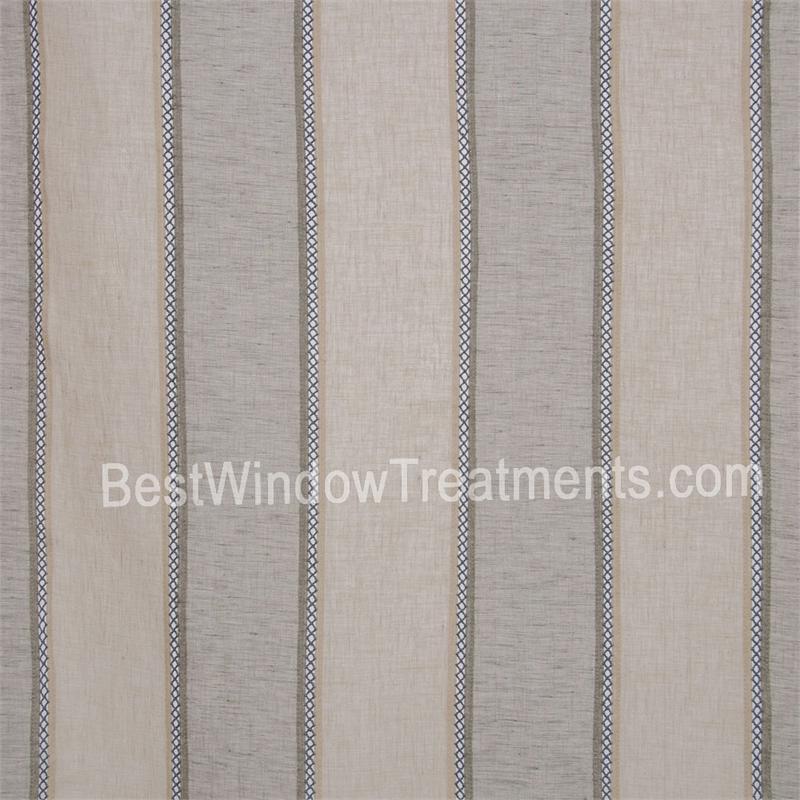 St. Tropez Stripe Curtains | Bestwindowtreatments.com