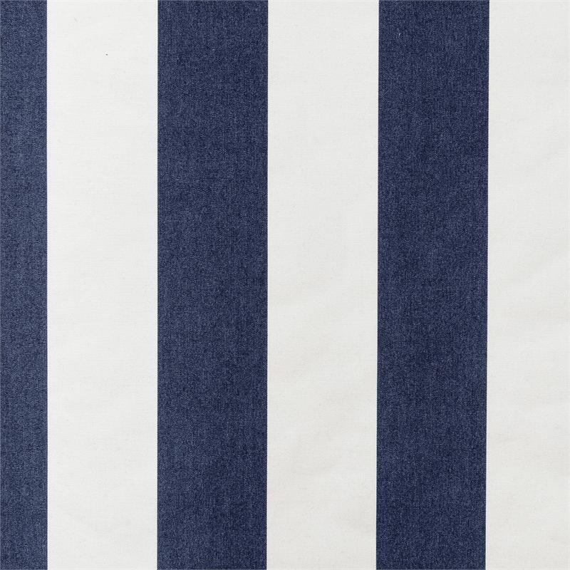 White Striped Curtain Panels