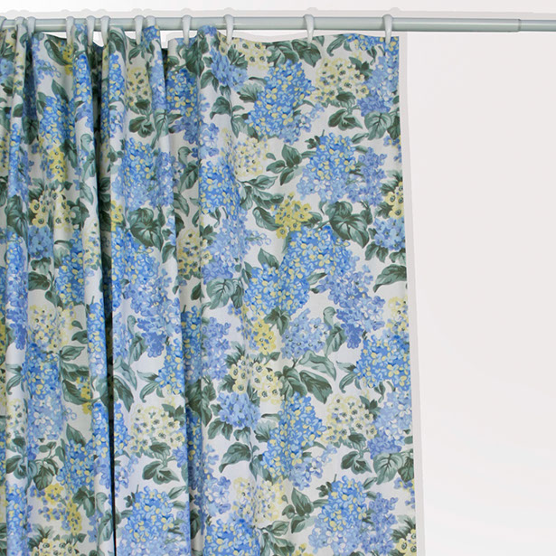 Hydrangea Bloom Shower Curtain