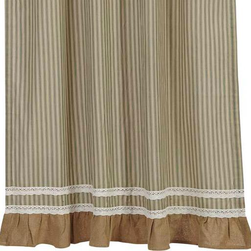 Kendra Stripe Prairie Curtain Bestwindowtreatments Com