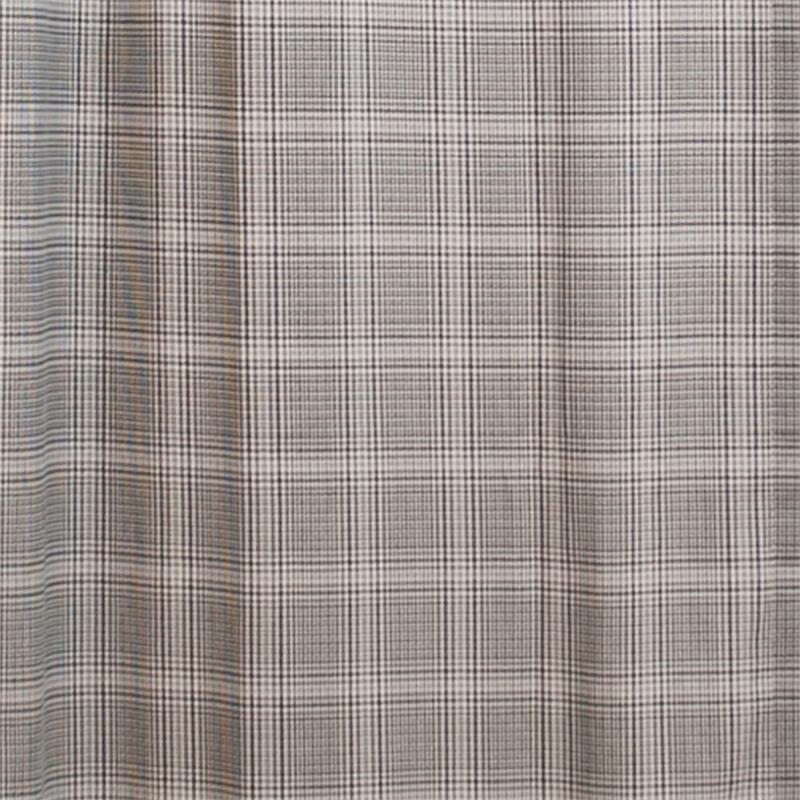 Morrison Plaid Shower Curtain | BestWindowTreatments.com