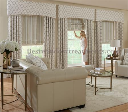 Custom Upholstered Cornices Style C2: Group 1 ...