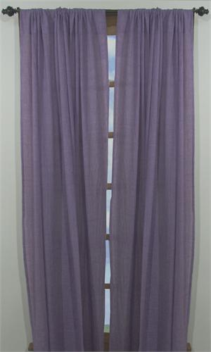 Chambray Curtains Available In 4 Colors