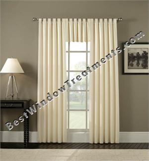 Tab Top Wide Curtain Patio Panel