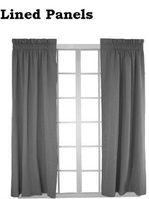 Extra Wide Curtain Panel in custom lengths