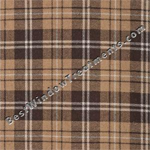 Gentlemens Plaid Scarf Swag Window Topper Available In 4