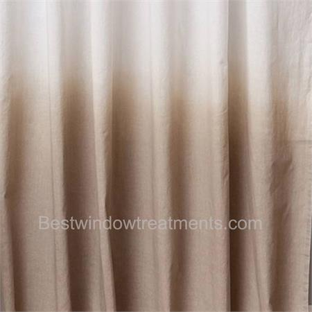 6b7820882c83 Hombre Gradient Two Tone Curtain Drapery Panels | www ...