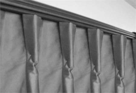 customers own material curtain panel