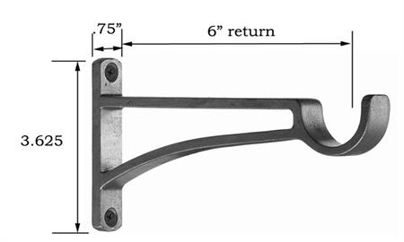 Heavy Duty Extended Bracket