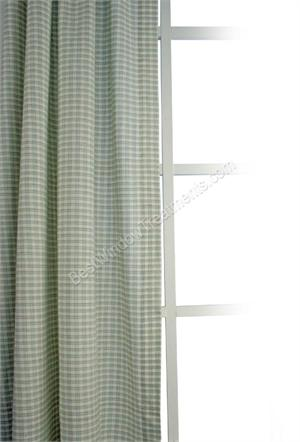 Lincoln Plaid Shower Curtain available in 3 colors