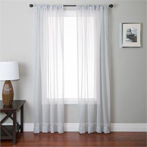 Medici Voile Sheer Curtain Panel available in 9 choices